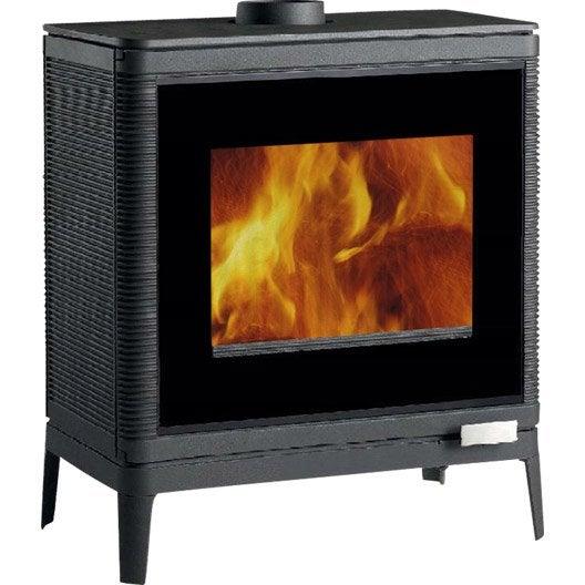 po le bois invicta kazan ga 6104 43 9 kw leroy merlin. Black Bedroom Furniture Sets. Home Design Ideas