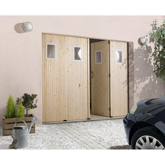 porte de garage la fran aise avec hublot primo x cm leroy merlin. Black Bedroom Furniture Sets. Home Design Ideas
