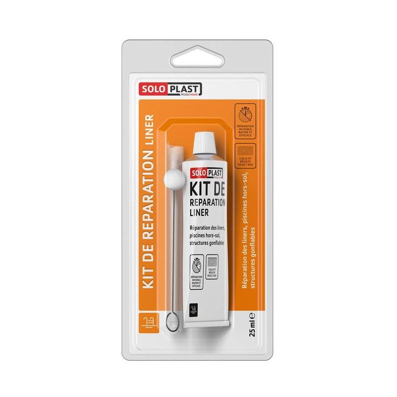 Kit De Réparation Piscine De Réparation Liner Soloplast 25 Ml
