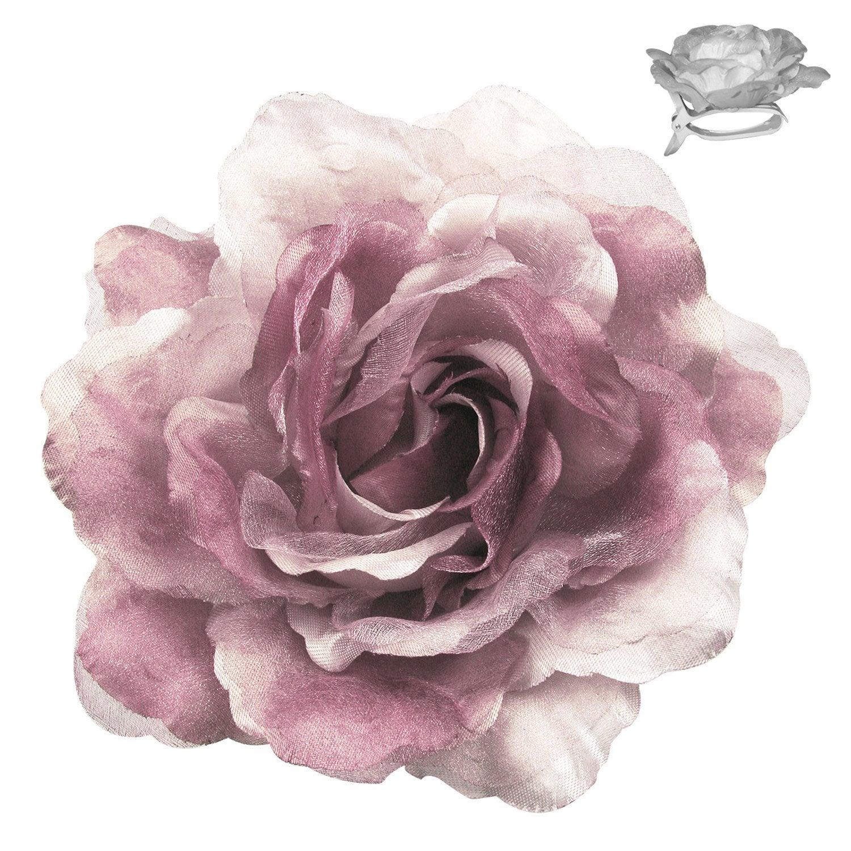 fleur sur pince fleur rose leroy merlin. Black Bedroom Furniture Sets. Home Design Ideas