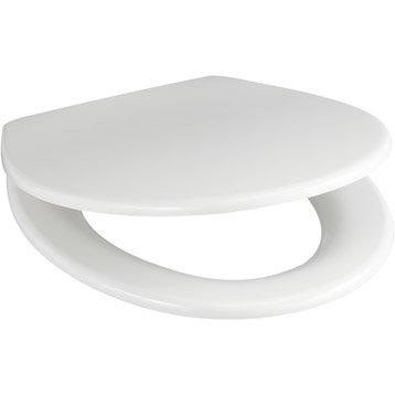 Abattant WC SENSEA Plexy blanc