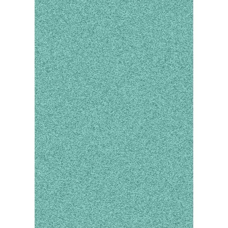 Tapis Bleu Shaggy Pop L 160 X L 230 Cm Leroy Merlin