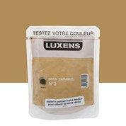 Peinture brun caramel 3 luxens couleurs int rieures satin 0 5 l leroy merlin for Peinture couleur caramel