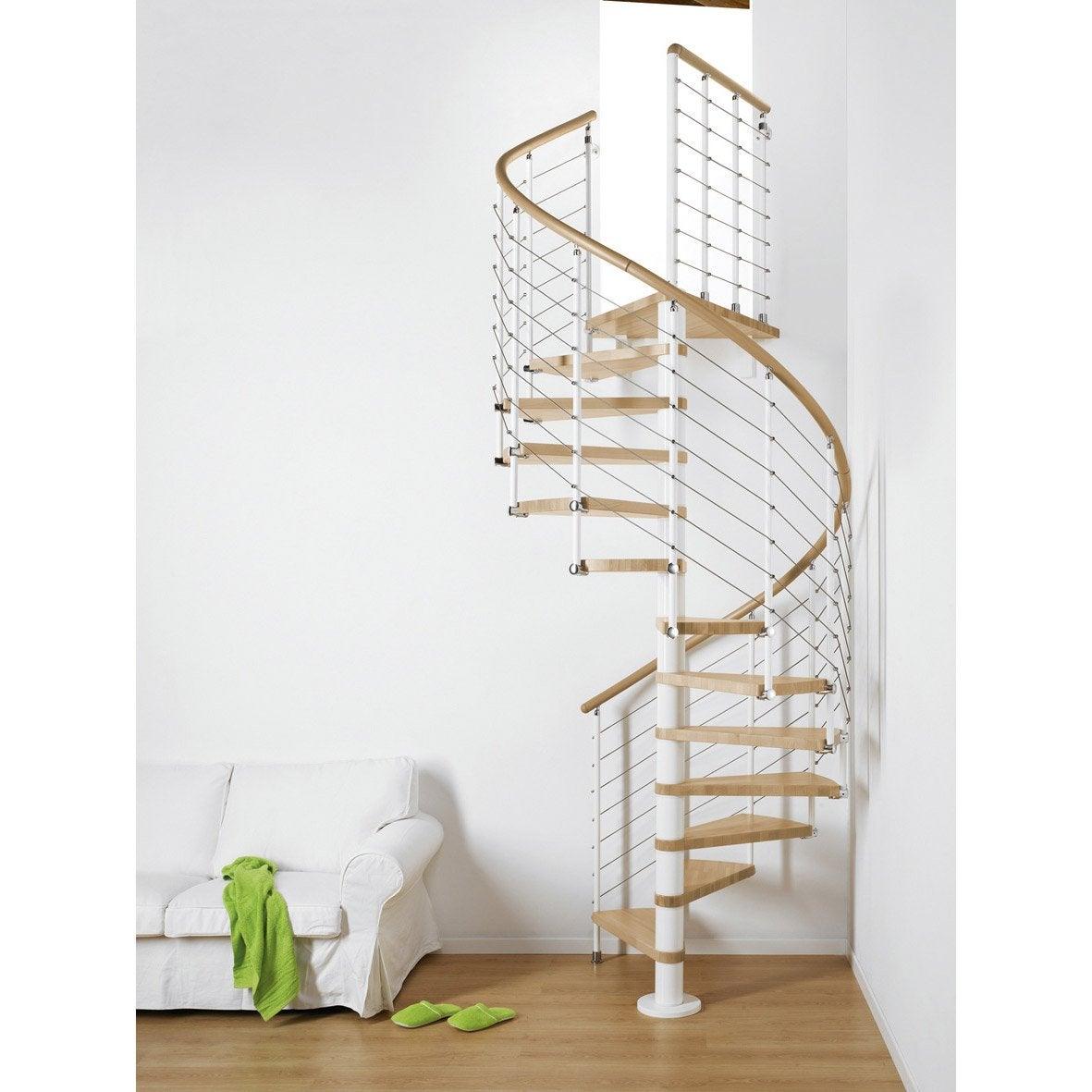 escalier helicoidal rond