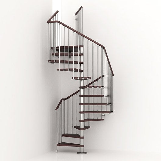 escalier colima on carr cube structure m tal marche bois leroy merlin. Black Bedroom Furniture Sets. Home Design Ideas