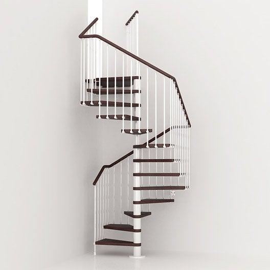 escalier colima 231 on carr 233 cube structure m 233 tal marche bois leroy merlin