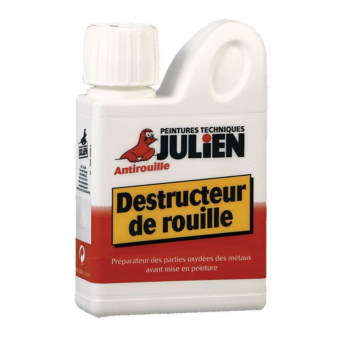 Contre La Rouille destructeur de rouille extérieur julien, incolore, 0.25 l | leroy merlin