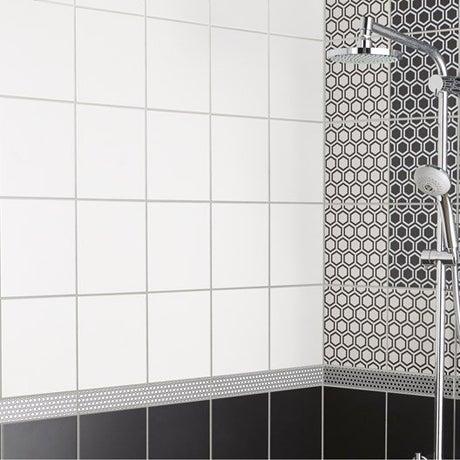 Faïence mur blanc mat, Astuce l.20 x L.20 cm