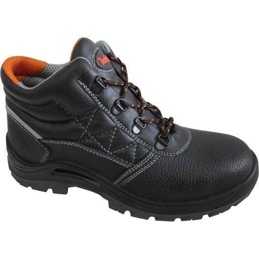 Chaussures de sécurité hautes KAPRIOL Hornet, coloris noir T43