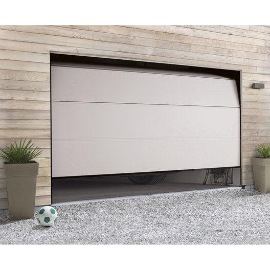 porte de garage sectionnelle motorisée hormann h200 x l