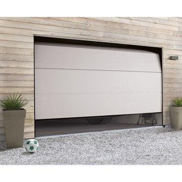 Porte de garage porte de garage et accessoires leroy merlin - Leroy merlin porte garage sectionnelle ...