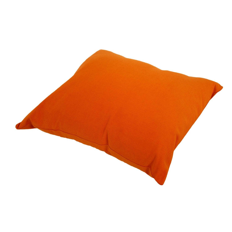 Coussin Sunny INSPIRE, orange potiron l.4