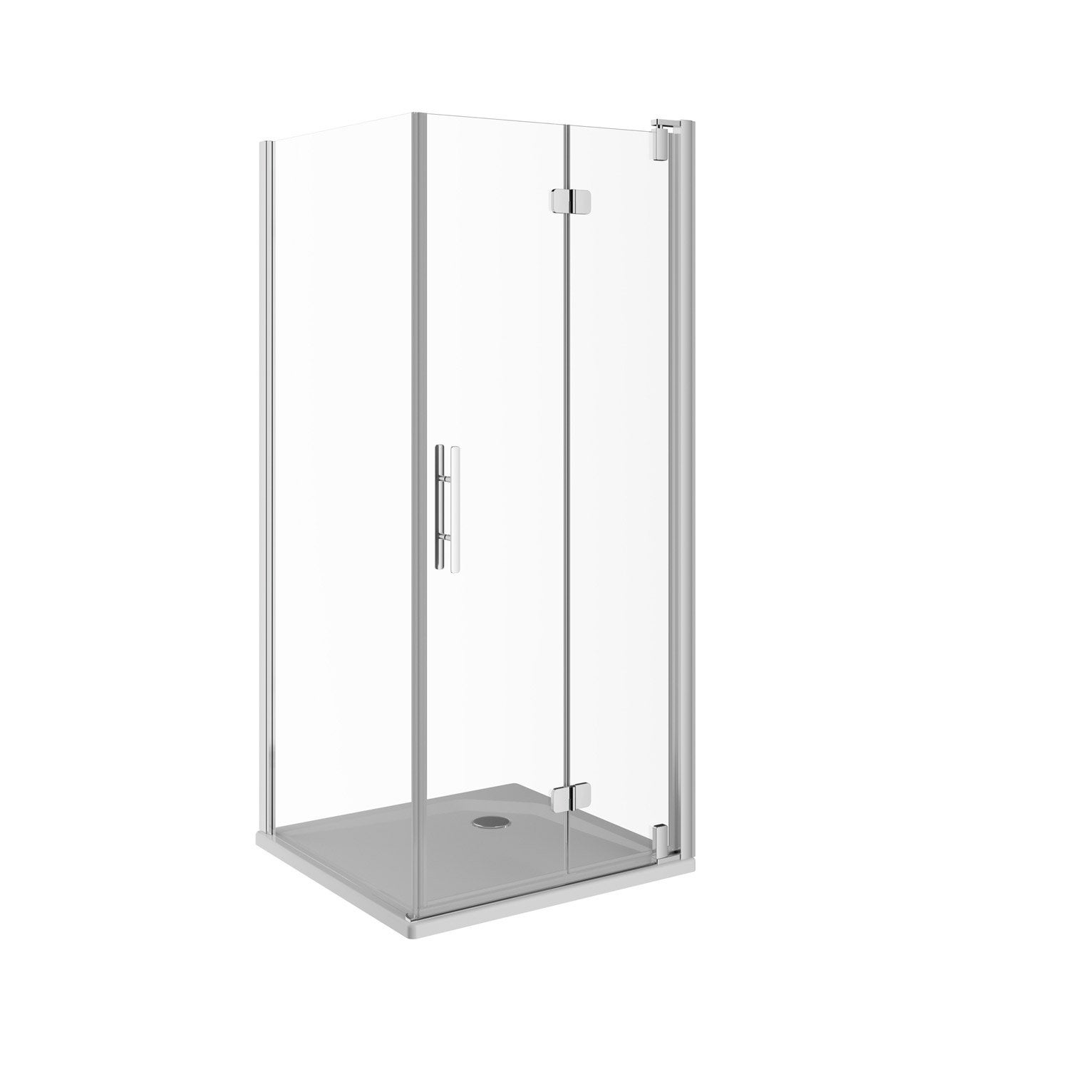 porte de douche pivot pliante 99 cm transparent adena leroy merlin. Black Bedroom Furniture Sets. Home Design Ideas