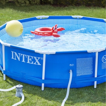 Piscine hors sol piscine bois gonflable tubulaire for Piscine hors sol intex