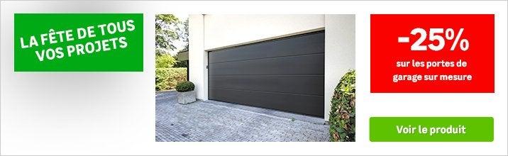 OCTOBRE fete de tous vos projet - remise porte de garage sur mesure