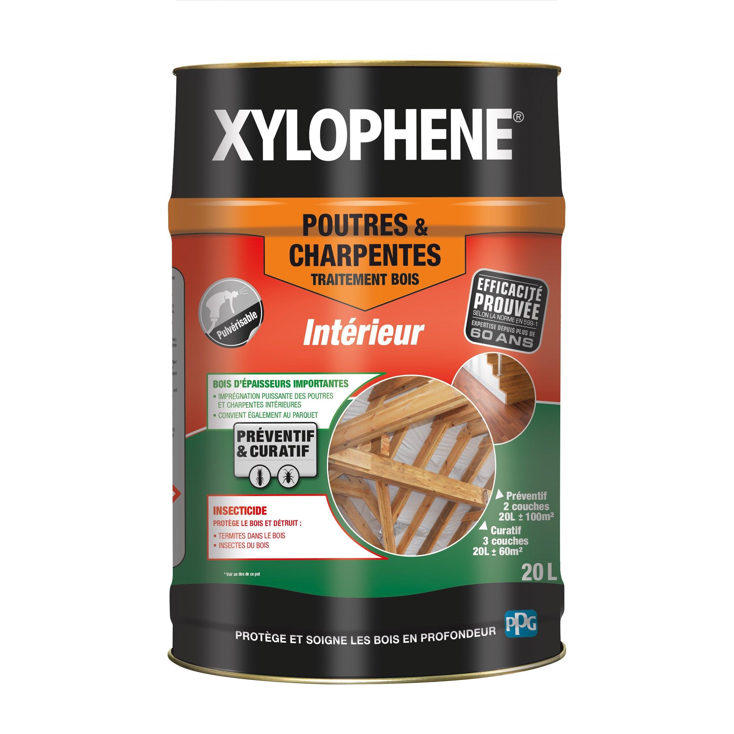Charpente Bois Poutre Et 20 Xylophene Traitement Du AnsL Yf6Ib7gyv