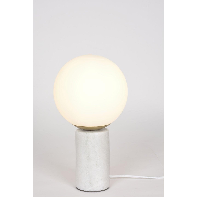 Lampe chic marbre blanc, COREP Marbre S