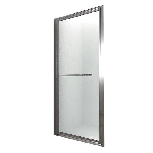 Porte de douche pivotante BREUER Palerme verre de