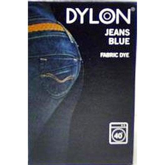 teinture machine pour textile dylon bleu jeans 200g leroy merlin. Black Bedroom Furniture Sets. Home Design Ideas