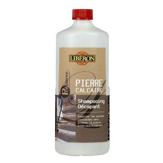 shampooing d capant pierre calcaire liberon incolore liquide 1 l leroy merlin. Black Bedroom Furniture Sets. Home Design Ideas