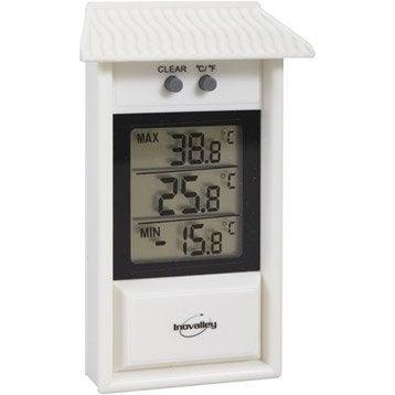 Thermomètre Mini Maxi intérieur ou extérieur INOVALLEY