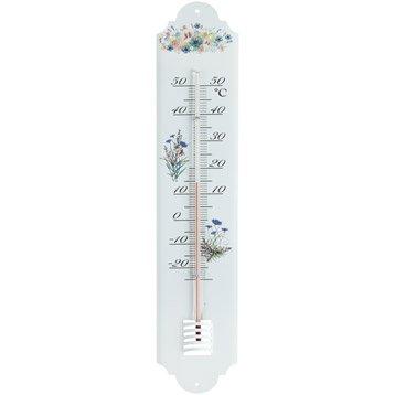Thermomètre fleur intérieur ou extérieur INOVALLEY