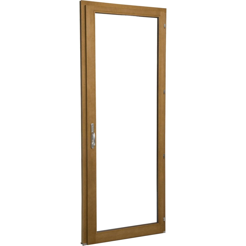 Porte fen tre bois 1 vantail ouvrant la fran aise for Porte fenetre closy hq