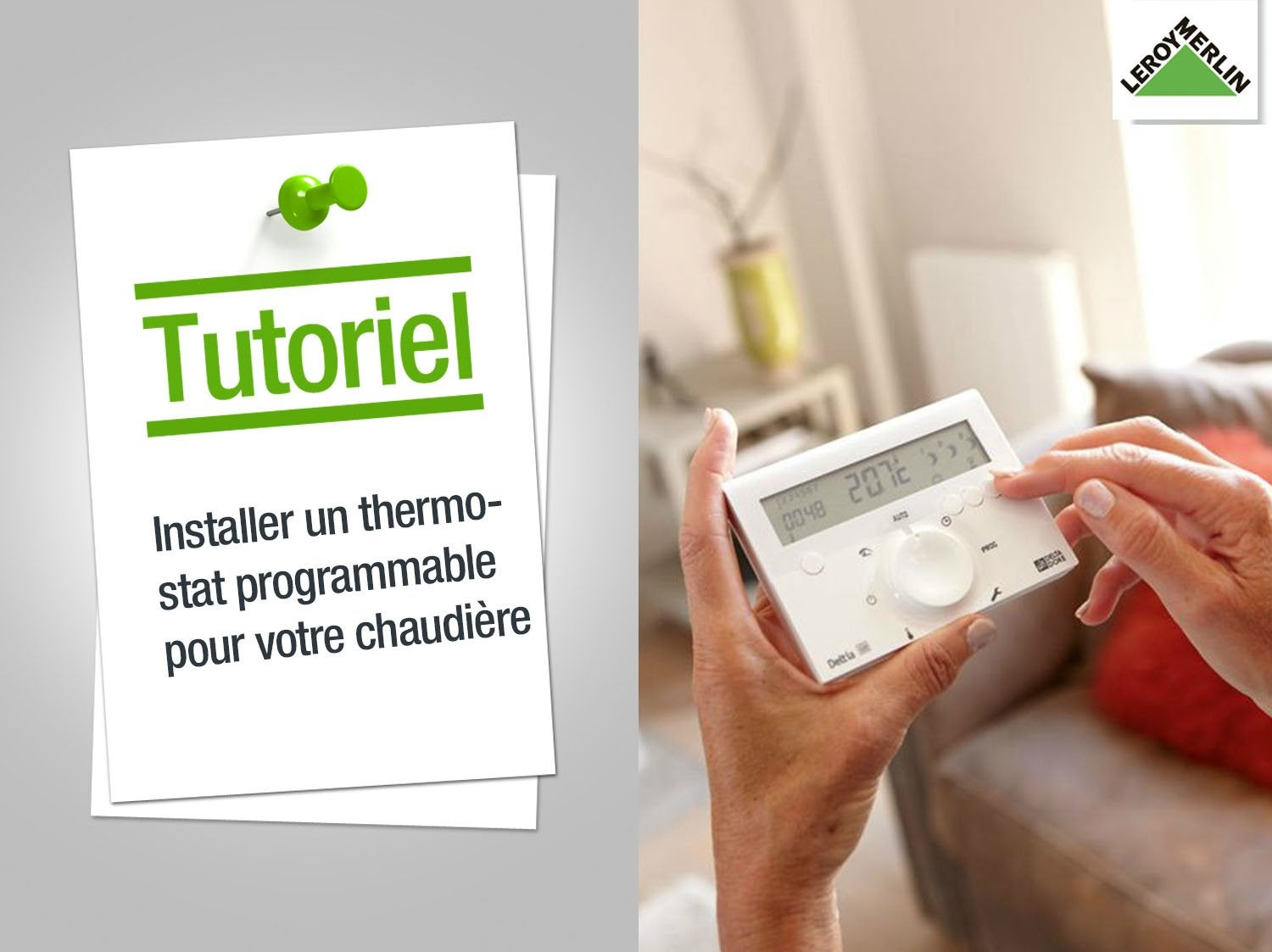 tout savoir sur les thermostats et programmateurs leroy merlin. Black Bedroom Furniture Sets. Home Design Ideas
