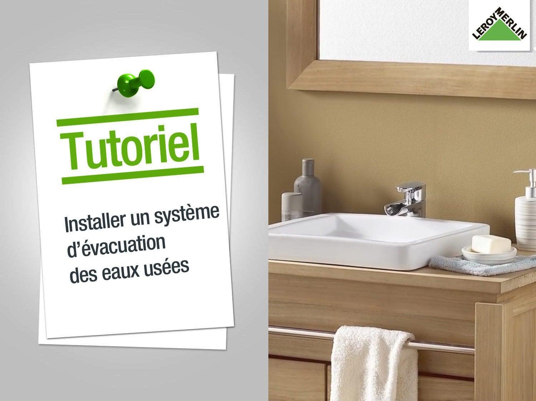 Evacuation Salle De Bain comment installer un système d'évacuation d'eau ? | leroy merlin