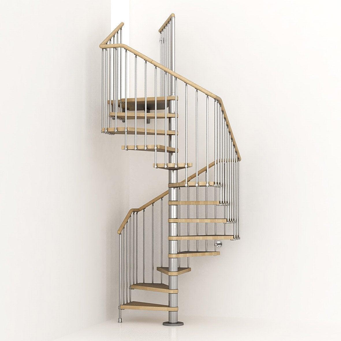 Tremie escalier colimaon diaporama sur le montage duun for Calcul escalier helicoidal