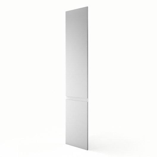 Porte colonne de cuisine blanc f40 200 graphic l40 x h200 cm leroy merlin for Colonne cuisine 40 cm