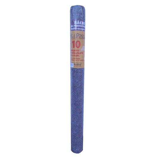 Rouleau de b che de protection l 1 x m m multiplast leroy merlin - Rouleau bache de protection ...