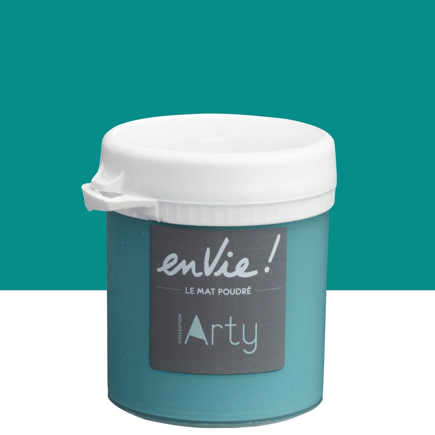 Testeur Peinture Vert Nouvelle Vague Satin Luxens Envie Collection