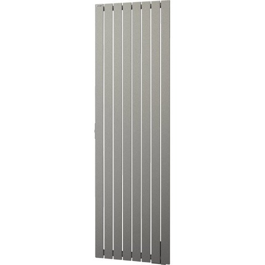 radiateur lectrique inertie fluide acova lina titane vertical 1000 w ler. Black Bedroom Furniture Sets. Home Design Ideas