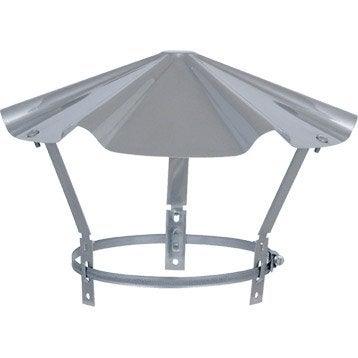 Chapeau pare-pluie simple ISOTIP JONCOUX 180 mm