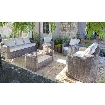 salon bas de jardin canap et fauteuil bas salon de. Black Bedroom Furniture Sets. Home Design Ideas