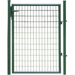 Portillon Soudé Eco vert H.1.5 x L.1m, maille 100x50mm