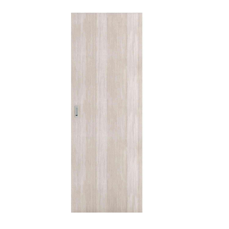 Porte coulissante médium (mdf) revêtue Loulou ARTENS, H.204 x l.73 ...