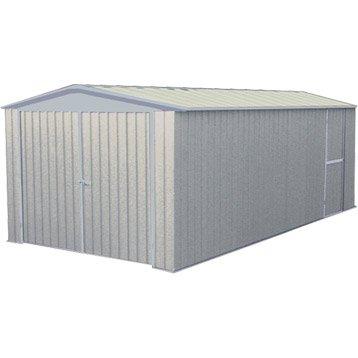 Garage métal Mackay 1 voiture, 17.64 m²