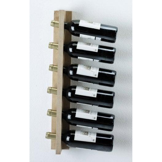 Range bouteilles et accessoires casier bouteille vin au meilleur prix leroy merlin - Range bouteille design ...