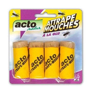 Piège antimouches ACTO, etui 4 tubes