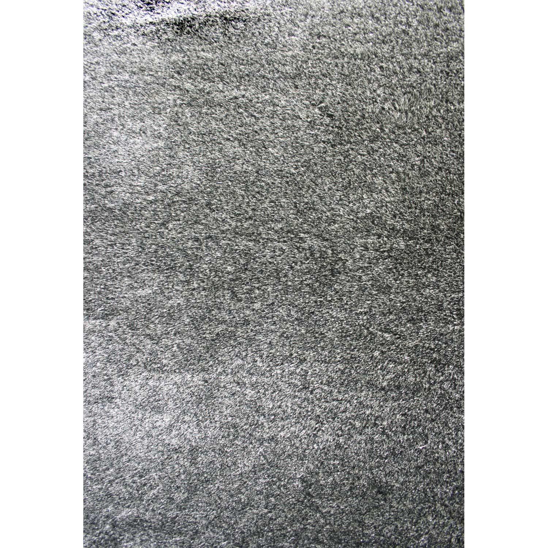Tapis Gris Shaggy Zelia L160 X L230 Cm Leroy Merlin