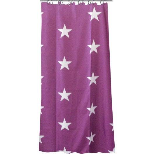 Rideau de douche violet home design architecture for Rideau de douche en tissu