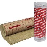 Rouleau en laine de roche Roulrock Kraft ROCKWOOL 5x1.2m, ép.100mm