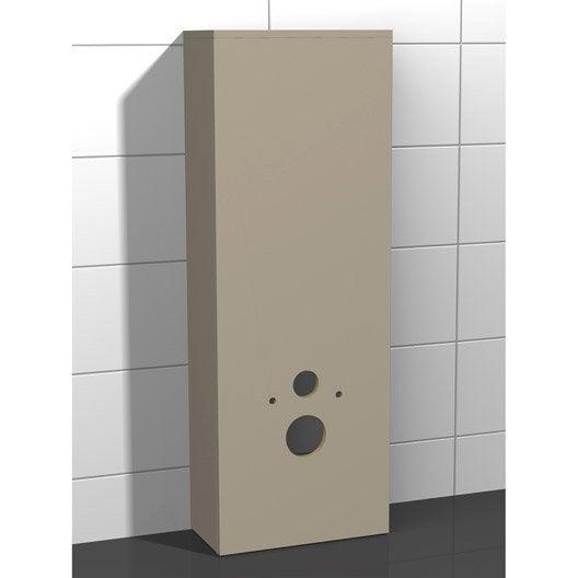 Coffrage pour wc suspendu coin d 39 o - Meuble pour wc suspendu leroy merlin ...