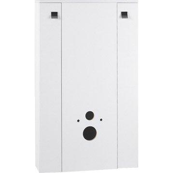 meuble coffrage et rangement wc meuble toilette au meilleur prix leroy merlin. Black Bedroom Furniture Sets. Home Design Ideas