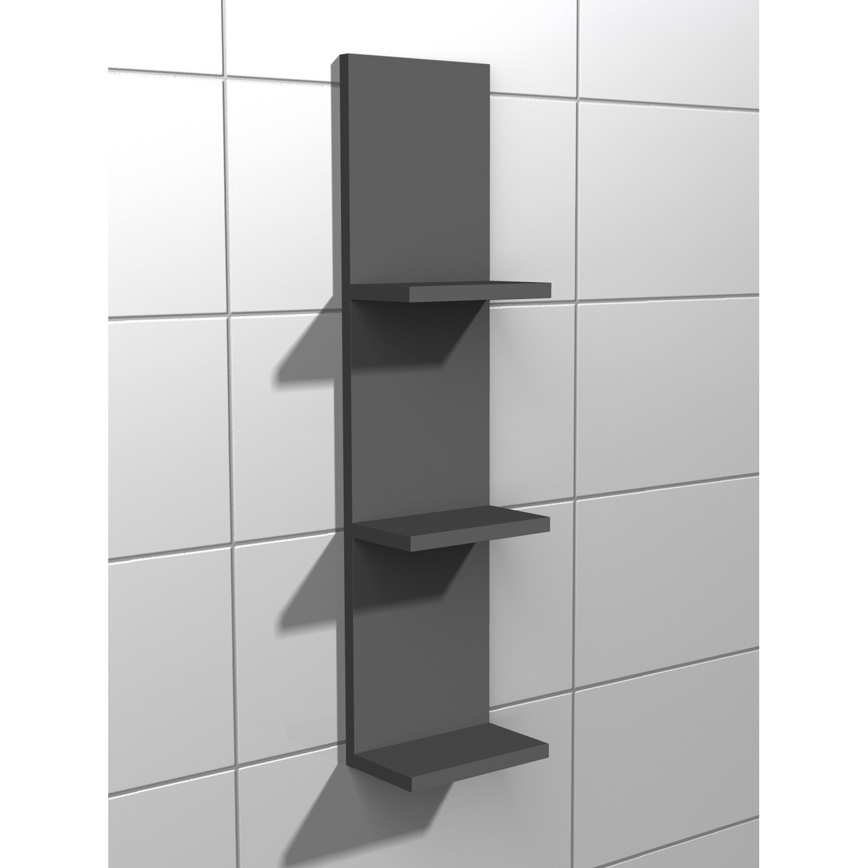 etag re de wc x x cm gris coin d 39 o leroy merlin. Black Bedroom Furniture Sets. Home Design Ideas