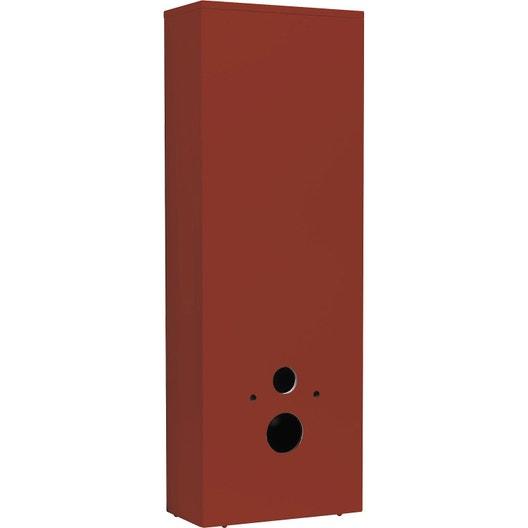 coffrage pour wc suspendu x x cm rouge. Black Bedroom Furniture Sets. Home Design Ideas