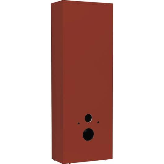 coffrage pour wc suspendu x x cm rouge sensea remix leroy merlin. Black Bedroom Furniture Sets. Home Design Ideas
