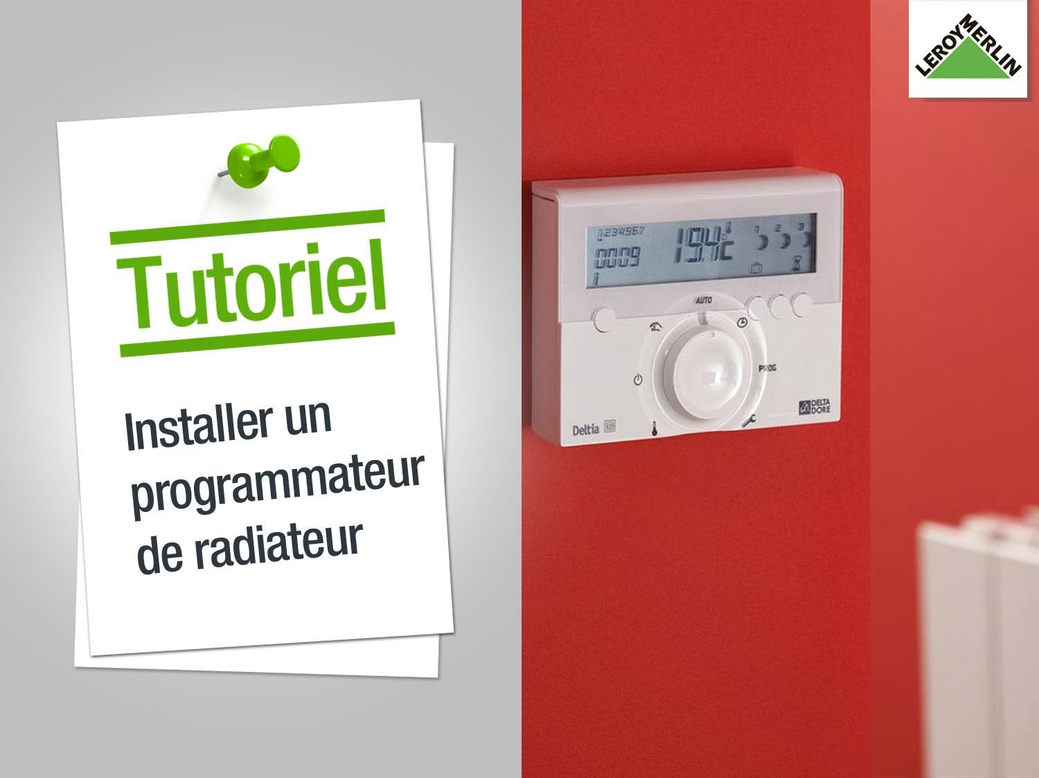 Thermostat programmable filaire honeywell thr140 f leroy merlin - Comment installer un sanibroyeur ...
